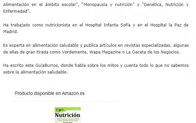 «GuíaBurros Nutrición» se posiciona dentro de los 6 mejores libros de nutrición.