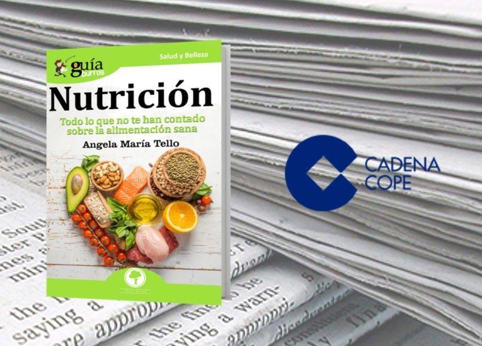 El «GuíaBurros: Nutrición» en el portal web de COPE