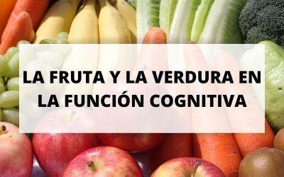 Impacto de la fruta y la verdura en la función cognitiva