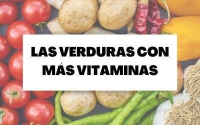 Descubre cuáles son las verduras con más vitaminas